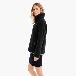 J. Crew Black Polartech Fleece Half-Zip Pullover